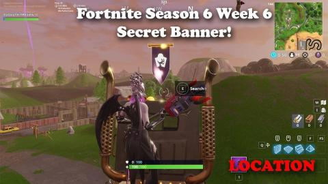 Fortnite - Season 6 - Week 6 - Secret Banner Location and Loading Screen