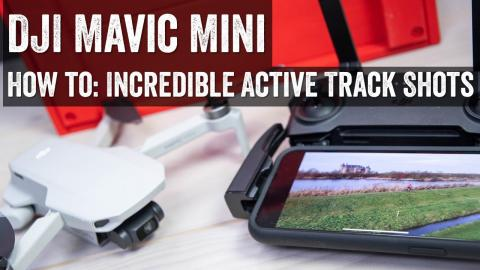 DJI Mavic Mini: How to create ActiveTrack-like sport shots!