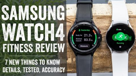 Samsung Galaxy Watch4 Sports & Fitness In-Depth Review: 7 New Things To Know
