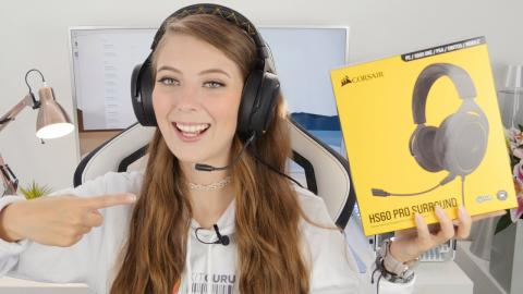 CORSAIR HS60 Pro Surround Gaming Headset - does BRIONY like it ?