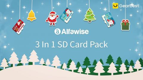 #TFcard #Christmas Alfawise Christmas Fun Edition 3 In 1 Micro SD TF Card - Gearbest