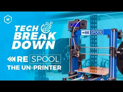 The New MatterHackers ReSpool // 3D Un-Printer