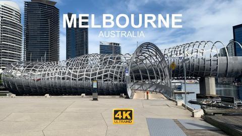 4k Walkthrough Melbourne Exhibition Center/Casino to South Wharf 60FPS