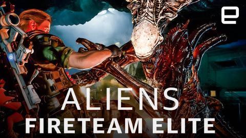 Aliens: Fireteam Elite hands-on: Space slog