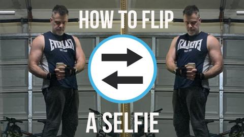 How to Flip a Selfie on your iPhone -  iOS 14 Update
