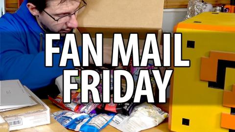 Fan Mail Friday! The Box of Snacks Edition