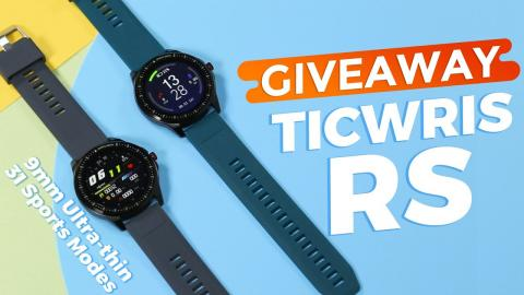 GIVEAWAY! How About TICWRIS RS Smartwatch with 31 Sports Modes?