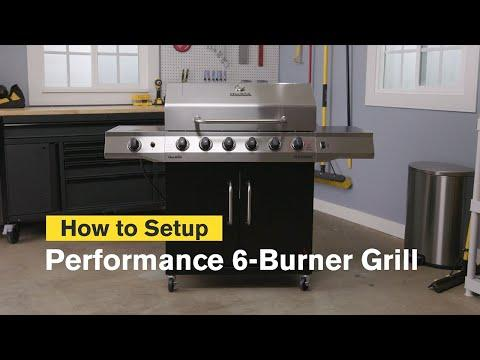 How to Assemble the Performance Series™ 6-Burner Gas Grill | Char-Broil®