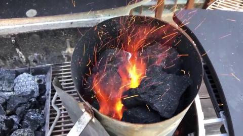 Lump Charcoal Sparks