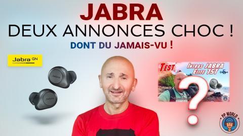 JABRA : Deux Annonces CHOC de la rentrée 2020 ! (dont du jamais-vu)