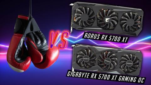 Head to Head! Gigabyte vs Aorus RX 5700 XT SHOWDOWN!