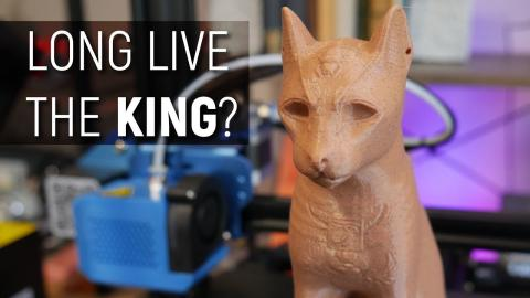 Can the CR-10 V2 topple the Creality King? 3D Printer Review