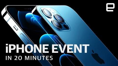 Apple's iPhone 12 event in 20 minutes
