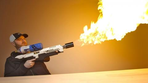This Is Not A Flamethrower...