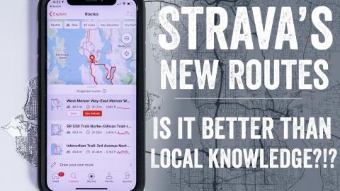 Strava's New Routing Feature: Is it better than a local?