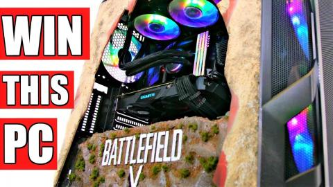 Project Battlefield 5 - ULTIMATE RTX GIVEAWAY CUSTOM GAMING PC BUILD - Time lapse