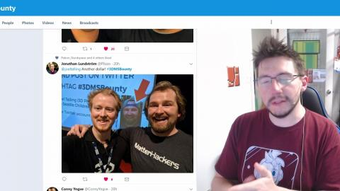 #3DMSBounty Results! Selfies with Dave during 3D Meetup Sweden Raised Money for Seattle Childrens!