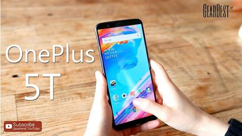 OnePlus 5T 4G Phablet - Gearbest.com