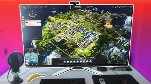 The World's BIGGEST Gaming Monitor