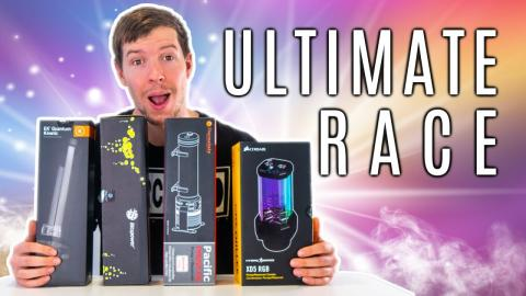 The ULTIMATE PC Water Cooling Race.. Who Will Win?