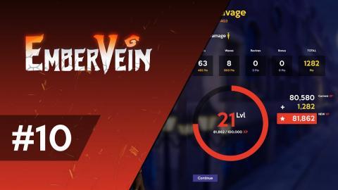 Leveling & Customisation! - EmberVein Dev Log #10