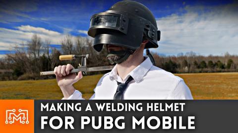 Making a Welding Helmet for PUBG Mobile