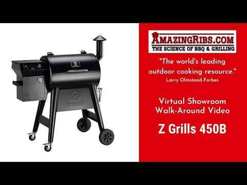 Z Grills 450B Pellet Smoker Review - Part 1 - The AmazingRibs.com Virtual Showroom