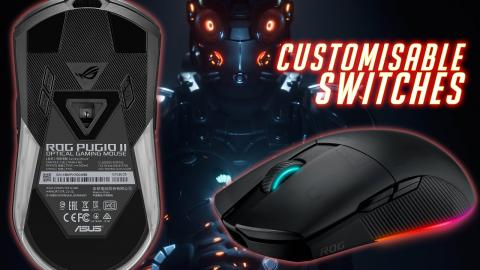 Asus ROG Pugio II Gaming Mouse Review - customisable switches!