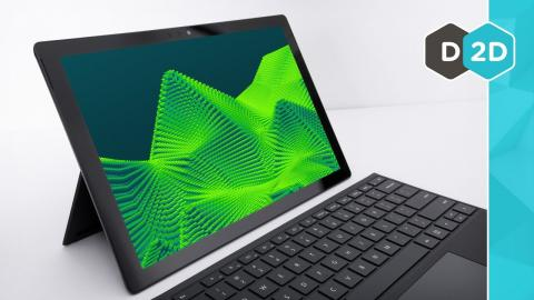 Surface Pro 6 - 60% Faster!