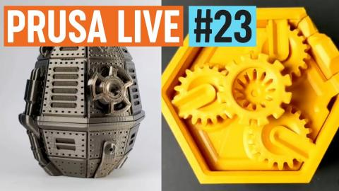 PrusaPrinters.org new features + a chat with designer Clockspring 3D - PRUSA LIVE #23