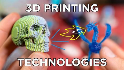Comparing 3D Printing Technologies