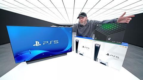 LG Display OLED + PS5 + Xbox Series X Giveaway!