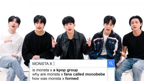 MONSTA X Answer the Web's Most Searched Questions | WIRED