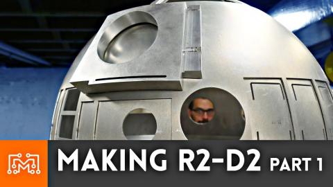 Making R2-D2 Part 1