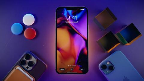 Create Your Own Wallpapers In Minutes with iPhone 13 Pro and iPhone 13 Pro Max #SHORTS
