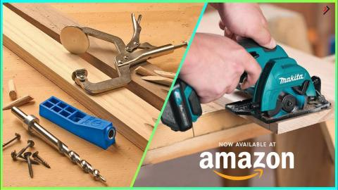 7 Amazing Woodworking Tools You Should Have Available On Amazon