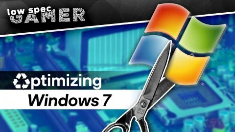 How to make Windows 7 LIGHTER for gaming!
