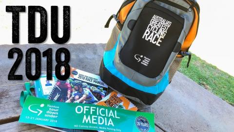 Tour Down Under 2018: What's in the media/press bag?