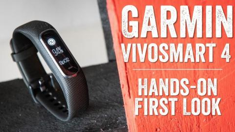 Garmin Vivosmart 4: The First Few Days Hands-on (with SpO2 & Body Battery)
