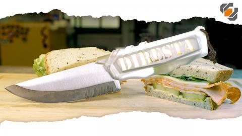 Making a Ghost Handle for the DIRESTA Skeleton Knife