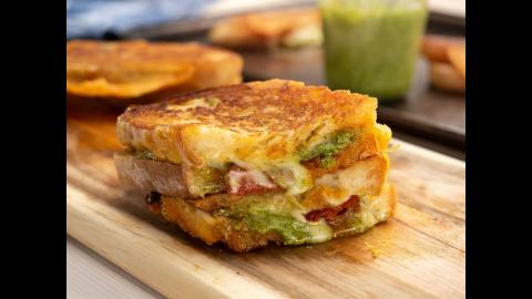 Gourmet Grilled Cheese | CharBroil®