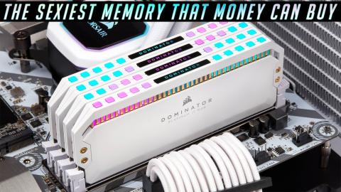 Corsair Dominator Platinum DDR4 RGB - WHITE (can you afford it ?!)