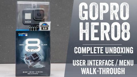 GoPro Hero 8 Unboxing // Complete User Interface Walk-Through