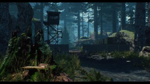 ☑️ Military Camp (Speed Level Design / Unreal Engine 4)