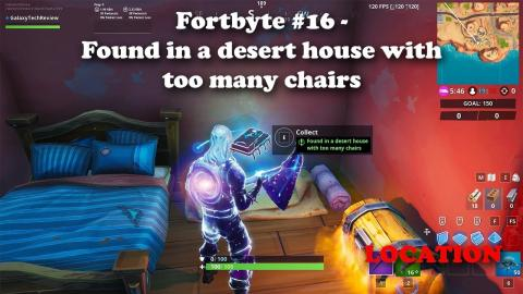 Fortbyte #16 - Found in a desert house with too many chairs LOCATION
