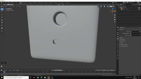 Tips & Tricks for Blender 2.8 | Create Holes in a Mesh with clean Topology
