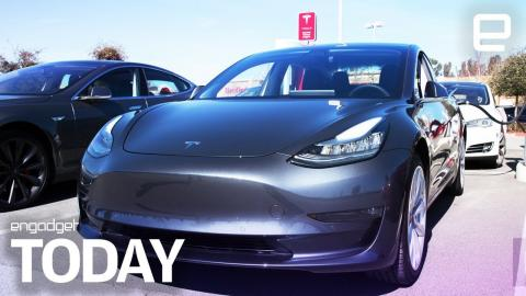 Tesla cuts car prices after its tax credits get halved   Engadget Today