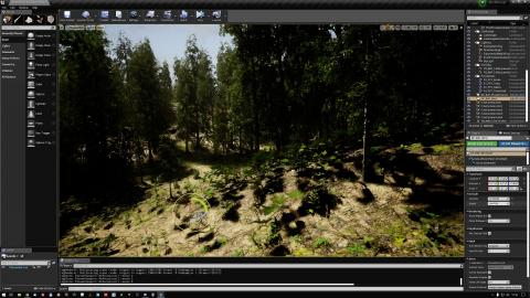 MAWI Birch Forest Biome | Wind Actor Test