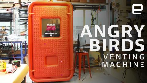 Angry Birds Venting Machine hands-on