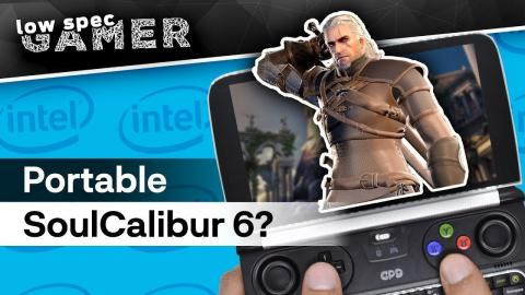 How to run Soul Calibur 6 on a low end PC | Ultra low graphics on GPD Win 2